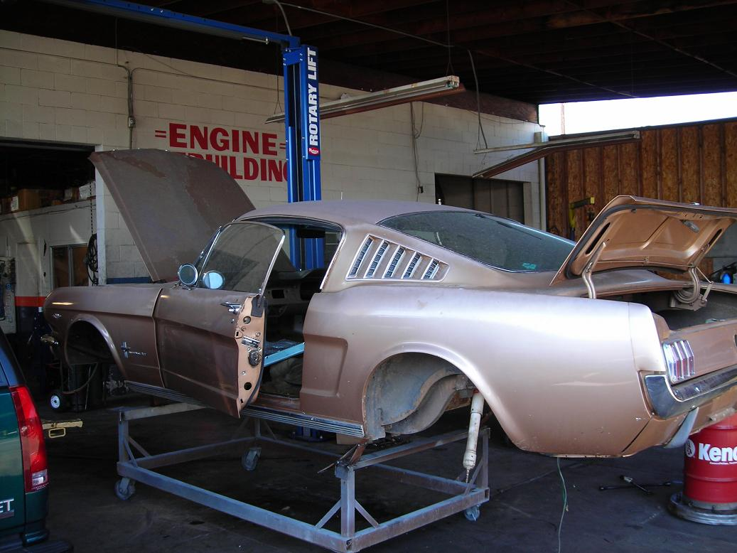 COMPLETE RESTORATION, EARLY MUSTANG