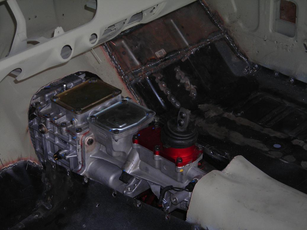 ENGINE AND TRANMISSION CONVERSION AND WELDING